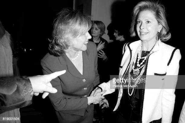Anne Akers and Pamela Morgan attend MOMENTUM WOMEN Honor Gila GamlielDemri hosted by Ceslie Armstrong Phyllis Heideman Cynthia Ekberg Tsai at Le...