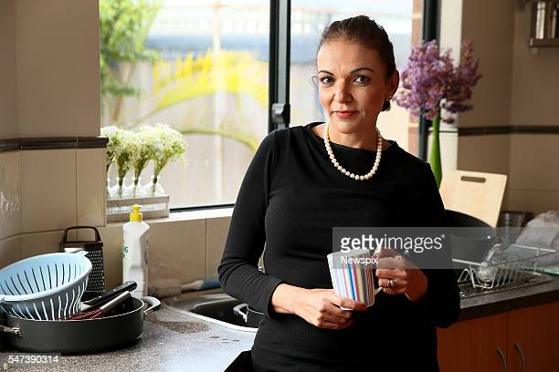Anne Aly Labor member for the seat of Cowan pictured at her home in Perth Western Australia