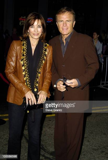 Anne Archer and husband Terry Jastrow during 'Ladder 49' World Premiere Arrivals at El Capitan Theatre in Hollywood California United States