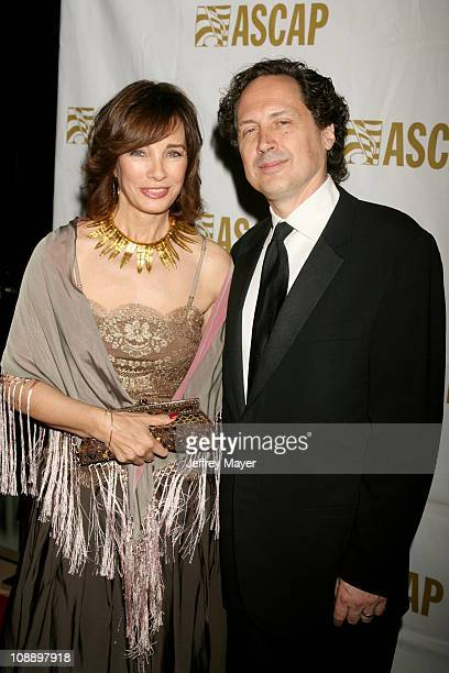 Anne Archer and Mark Isham during 21st Annual ASCAP Film and Television Music Awards at Beverly Hilton Hotel in Beverly Hills California United States
