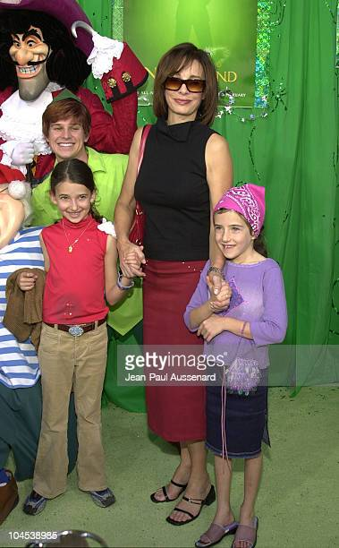 Anne Archer daughters during Return To Never Land Premiere at El Capitan Theatre in Hollywood California United States