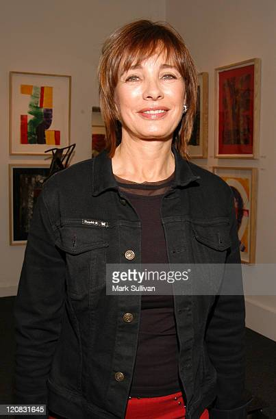 Anne Archer during Gala Opening of Milton Katselas' 'Spacial Motion Monotypes' Exhibit Inside at Gallery 258 in Beverly Hills California United States