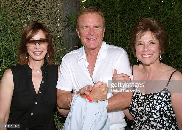 Anne Archer Terry Jastrow and Kate Johnson during 'Melodies and Memories' an Evening Under the Stars at The Los Angeles Zoo in Los Angeles California...