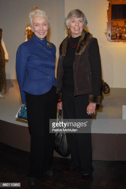 Anne Bailey and Jacquie DeDona attend LACMA Costume Council exclusive preview of FIDM's 17th Annual Art of Motion Picture Costume at Fashion...