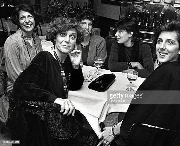 Anne Bancroft and Family during 'Garbo Talks' New York City Premiere Party at Trump Tower in New York City New York United States