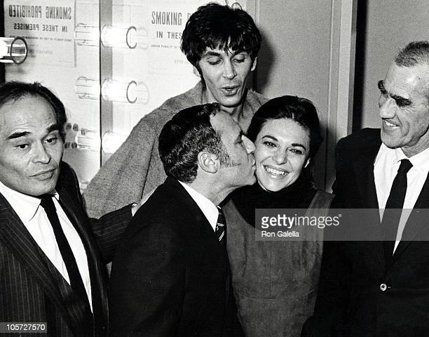 Anne Bancroft husband Mel Brooks and Jose Quintero