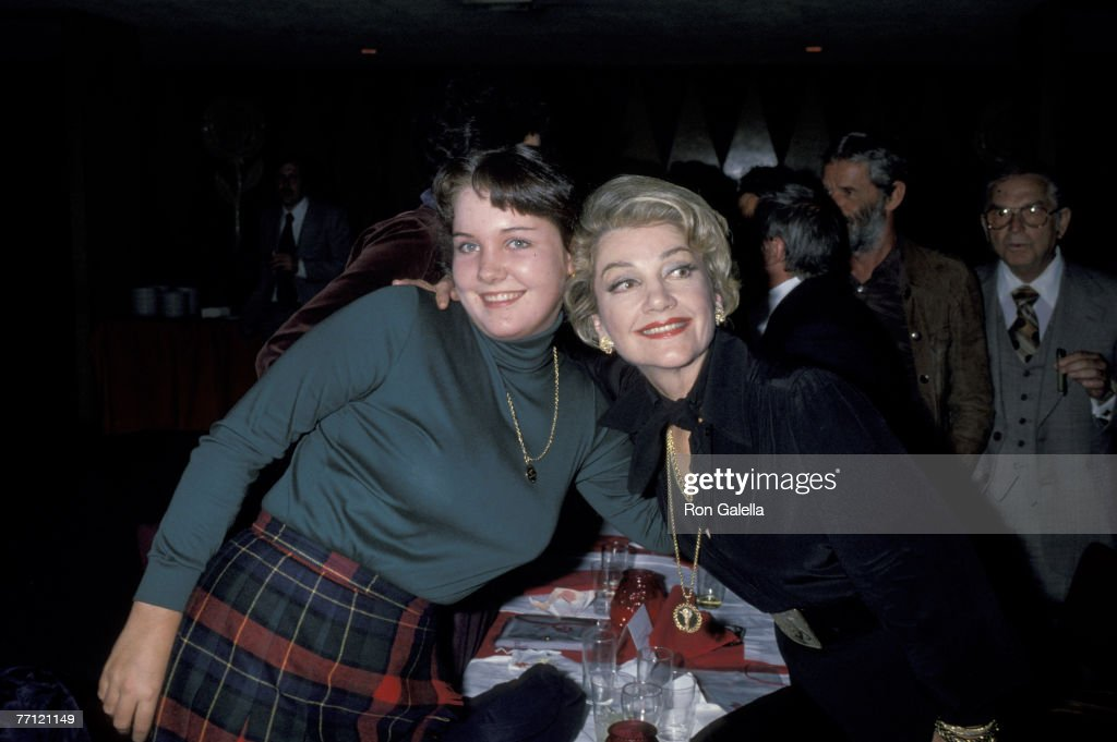 Anne Baxter and Daughter