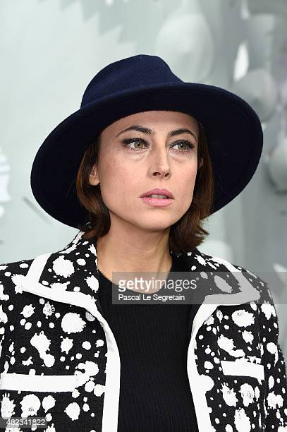 Anne Berest attends the Chanel show as part of Paris Fashion Week Haute Couture Spring/Summer 2015 on January 27 2015 in Paris France