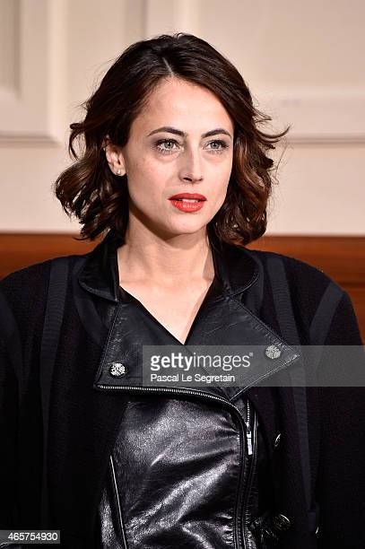 Anne Berest attends the Chanel show as part of the Paris Fashion Week Womenswear Fall/Winter 2015/2016 on March 10 2015 in Paris France