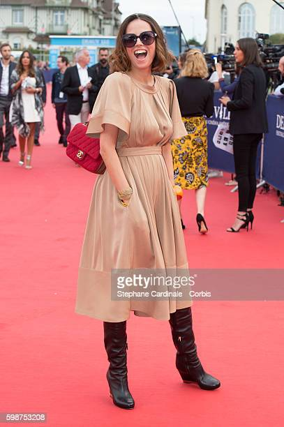 Anne Berest attends the Opening Ceremony of the 42nd Deauville American Film Festival on September 2 2016 in Deauville France