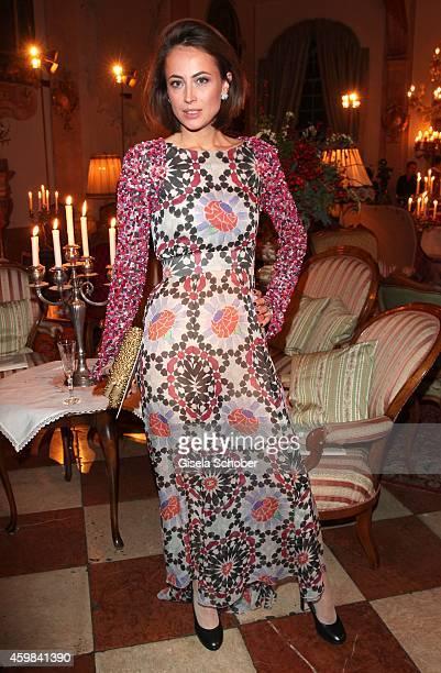 Anne Berest during the Chanel Metiers d'Art Collection 2014/15 ParisSalzburg on December 2 2014 in Salzburg Austria