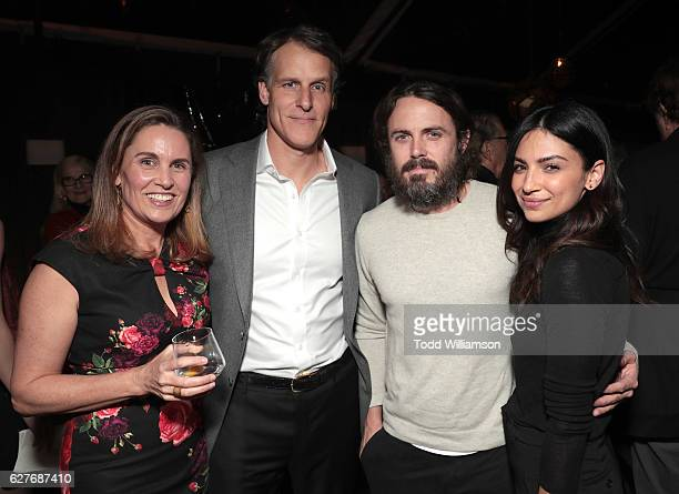 Anne Blackburn Amazon SVP Jeff Blackburn Casey Affleck and Floriana Lima attend Jeff Bezos and Matt Damon's 'Manchester By The Sea' Holiday Party on...