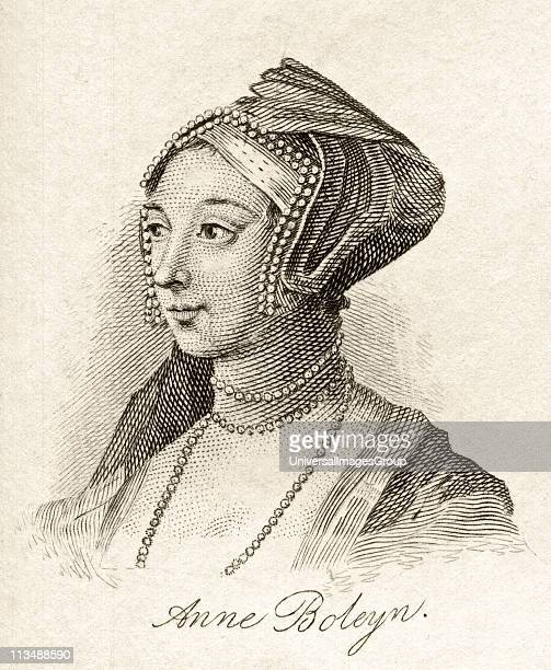 Anne Boleyn also spelled Bullen 15071536 English queen Second wife of Henry VIII From the book Crabbs Historical Dictionary published 1825