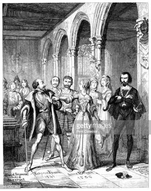 Anne Boleyn and Edward Seymour 19th century