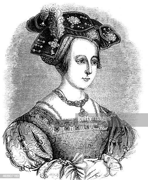 Anne Boleyn second wife of Henry VIII of England c1880 The divorce of Henry VIII from Catherine of Aragon and his subsequent marriage to Anne Boleyn...