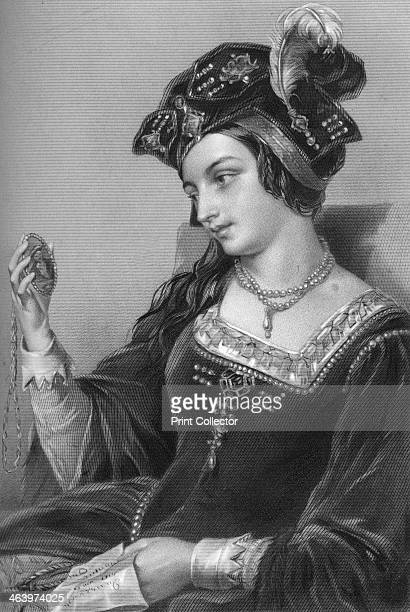 Anne Boleyn the second wife of King Henry VIII 1851 From Biographical Sketches of the Queens of Great Britain from the Norman Conquest to the Reign...
