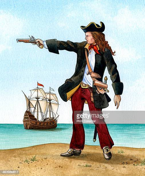 Anne Bonny c1698 Irish Pirate Disguised herself as a man in order to join Rackham's crew on board the 'Revenge'