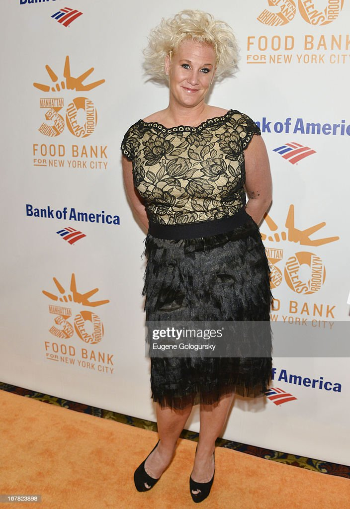 Anne Burrell attends the 2013 Food Bank For New York City Can Do Awards at Cipriani Wall Street on April 30, 2013 in New York City.