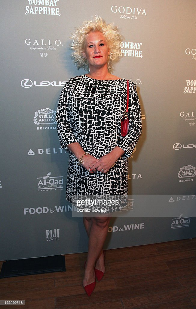 Anne Burrell attends The FOOD & WINE 2013 Best New Chefs Party at Pranna Restaurant on April 5, 2013 in New York City.