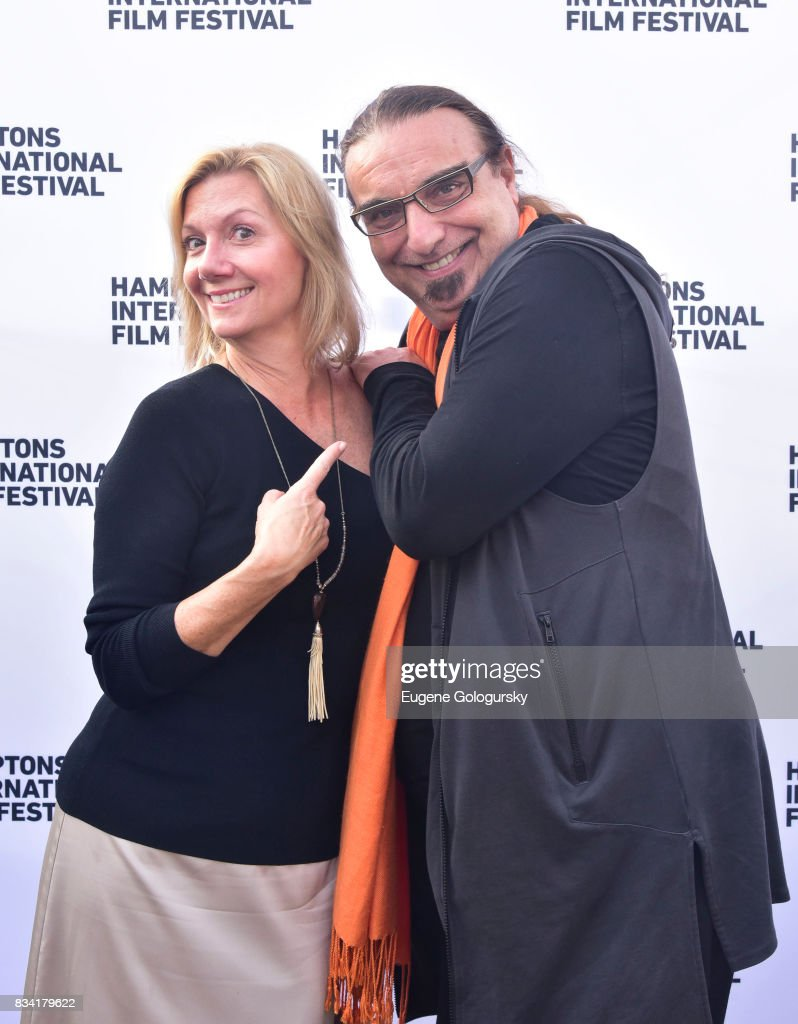 Anne Chaisson and Rudi Dolezal attend the The Hamptons International Film Festival SummerDocs Series Screening of WHITNEY. 'CAN I BE ME' at UA Southampton 4 Theatres on August 17, 2017 in Southampton, New York.