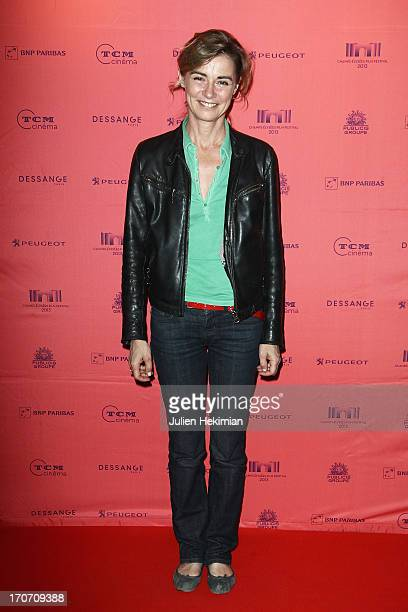 Anne Consigny attends '12 Ans D'Age' Premiere As Part of The Champs Elysees Film Festival 2013 at UGC George V on June 16 2013 in Paris France