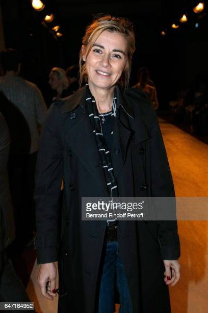 Anne Consigny attends the Alexis Mabille show as part of the Paris Fashion Week Womenswear Fall/Winter 2017/2018 on March 2 2017 in Paris France