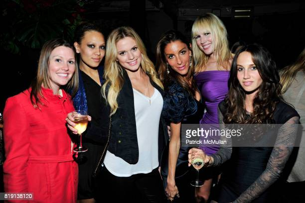 Anne Desbarre Brooke Grant Chelsea Salmon Dori Cooperman Ashley Shelton Ali Kay attend NICOLAS BERGGRUEN's 2010 Annual Party at the Chateau Marmont...