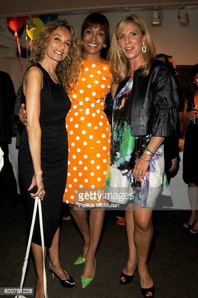 Anne Dexter Jones Faye Wattleton and Margo McNabb Nederlander attend 'PARTY FAVORS' by Nicole Sexton Book Release Party at Michael's on July 29 2008...