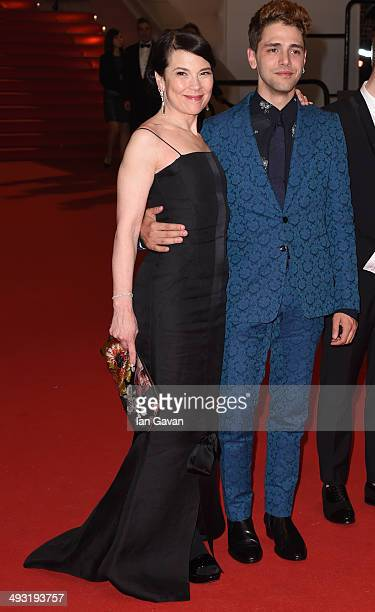 Anne Dorval and director Xavier Dolan attend the 'Mommy' premiere during the 67th Annual Cannes Film Festival on May 22 2014 in Cannes France