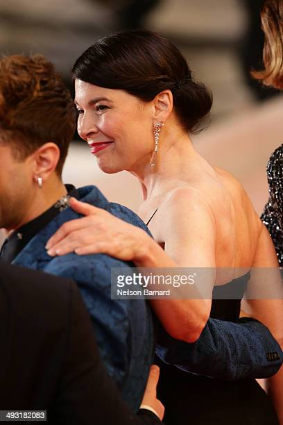 Anne Dorval attends the 'Mommy' premiere during the 67th Annual Cannes Film Festival on May 22 2014 in Cannes France