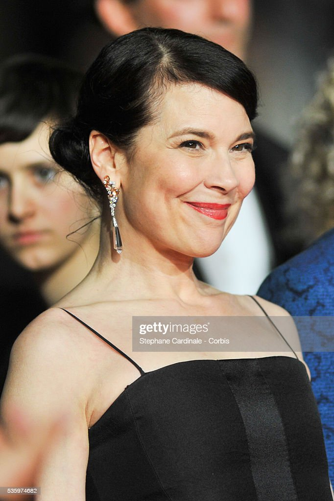 Anne Dorval attends the 'Mommy' premiere during the 67th Cannes Film Festival