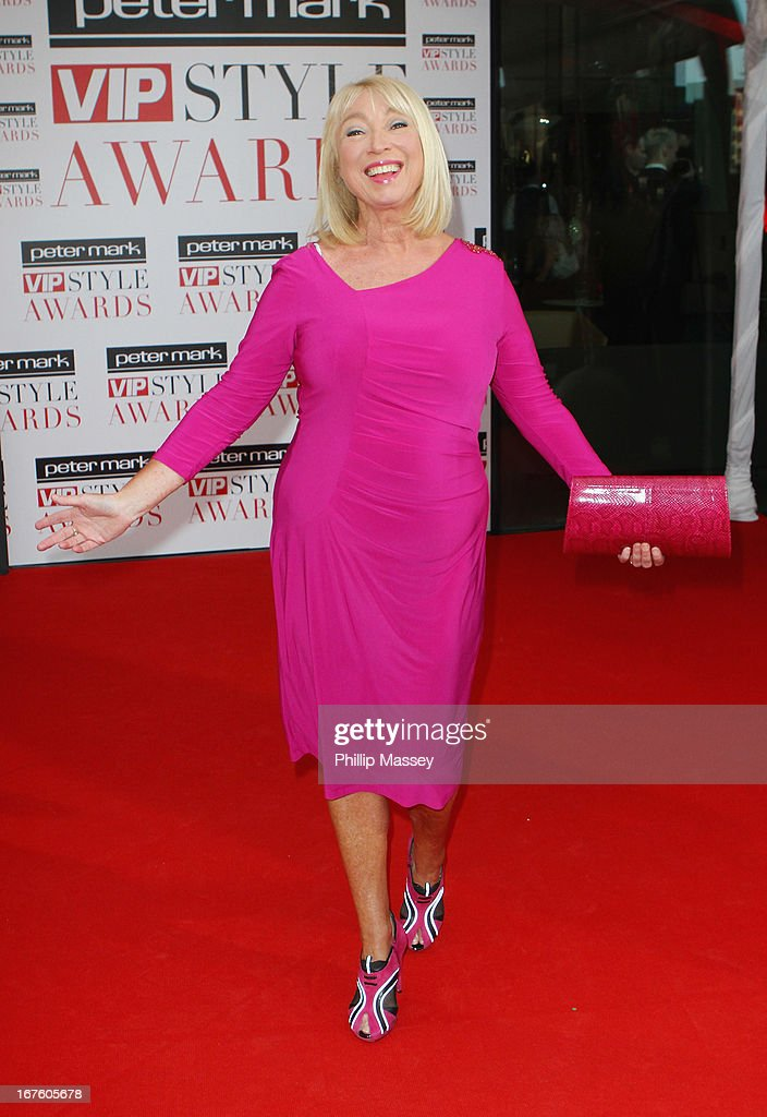 Anne Doyle attends the Peter Mark VIP Style Awards at Marker Hotel on April 26, 2013 in Dublin, Ireland.