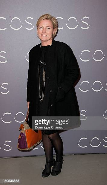 Anne Elisabeth Lemoine attends COS Shop Opening Party at Cos Rue Montmartre on October 27 2011 in Paris France