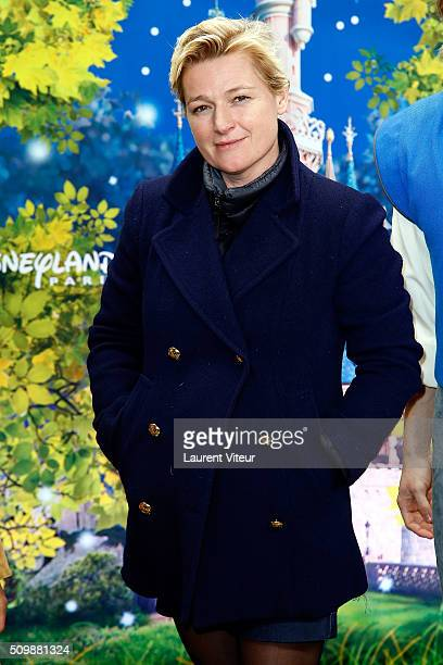 Anne Elisabeth Lemoine attends 'La Foret de L'Enchantement' Musical Show Premiere at Disneyland Paris on February 12 2016 in Paris France
