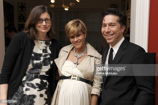 Anne Fahey Jenne Lombardo and Brian Wolk attend RUFFIAN INSIDE OUT Launch Party at Private Residence on June 1 2009 in New York