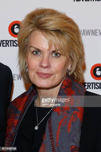 Anne Finucane poses at the Bloomberg CSuite Conversation on the Times Center Stage during 2016 Advertising Week New York on September 29 2016 in New...