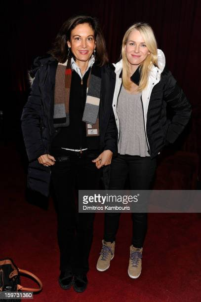 Anne Fontaine and Naomi Watts attend Day 2 of Village At The Lift 2013 on January 19 2013 in Park City Utah