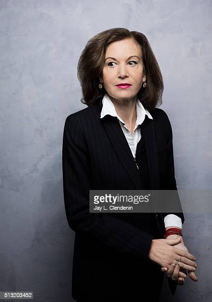 Anne Fontaine director from the film 'Agnus Dei' pose for a portrait at the 2016 Sundance Film Festival on January 24 2016 in Park City Utah CREDIT...