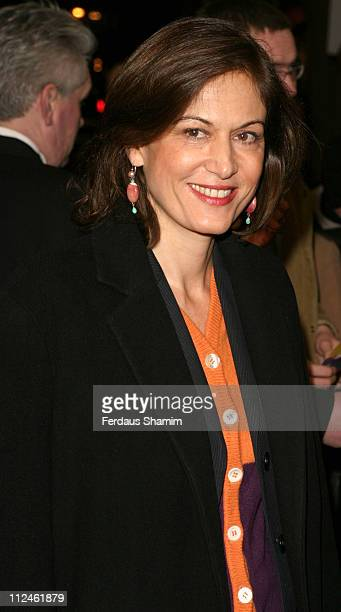 Anne Fontaine during 2004 Renault French Film Season Gala Opening 'Pas Sur La Bouche' Arrivals Arrivals at UGC Haymarket in London Great Britain