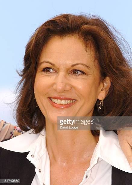 Anne Fontaine writer during 2006 Cannes Film Festival 'Nouvelle Chance ' Photocall at Palais des Festival in Cannes France