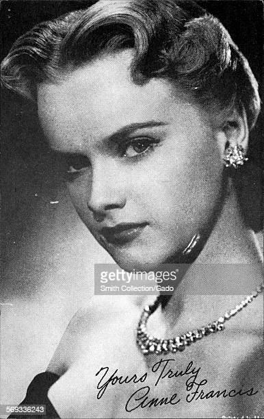 Anne Francis 1950