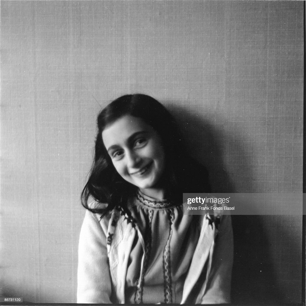 Anne Frank, who lived in concealed rooms during the Nazi occupation of Amsterdam, circa 1941.