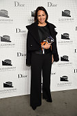 Anne Fulenwider attends the Guggenheim International Gala PreParty made possible by Dior on November 5 2014 in New York City