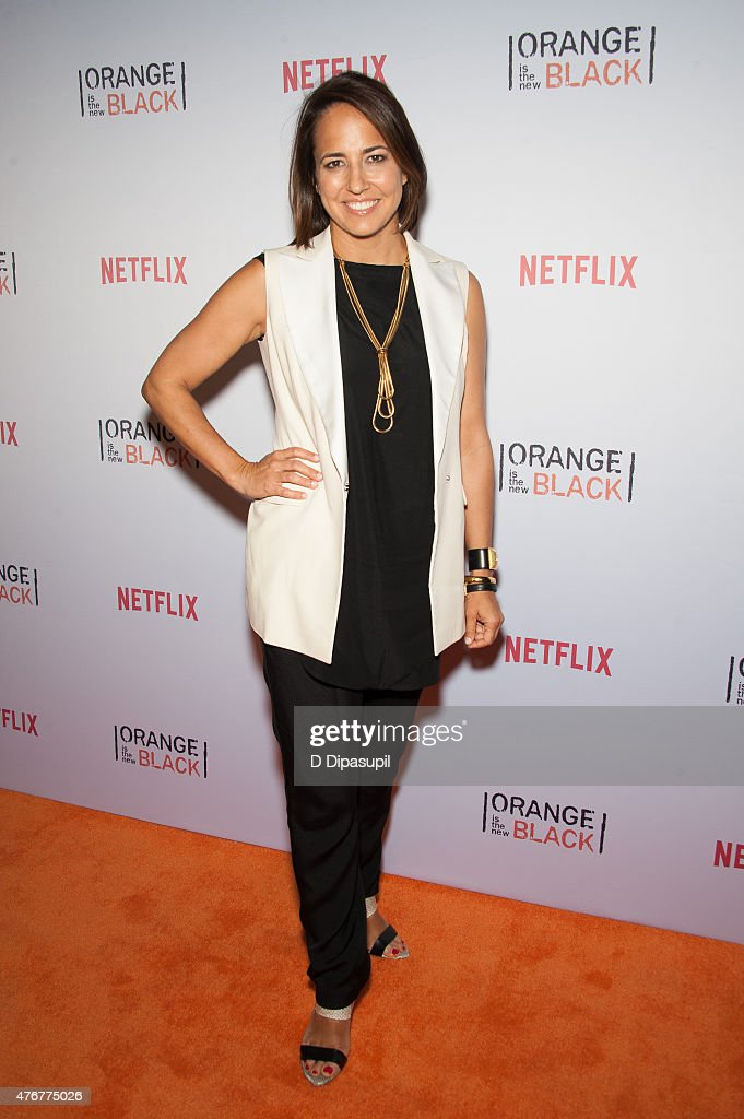 Anne Fulenwider attends the 'Orangecon' Fan Event at Skylight Clarkson SQ. on June 11, 2015 in New York City.