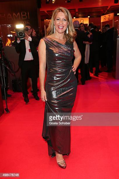 Anne Gesthuysen during the Bambi Awards 2015 at Stage Theater on November 12 2015 in Berlin Germany