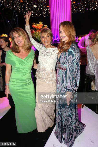 Anne Gesthuysen Uschi Glas and Anna Loos during the Goldene Kamera after show party at Messe Hamburg on March 4 2017 in Hamburg Germany