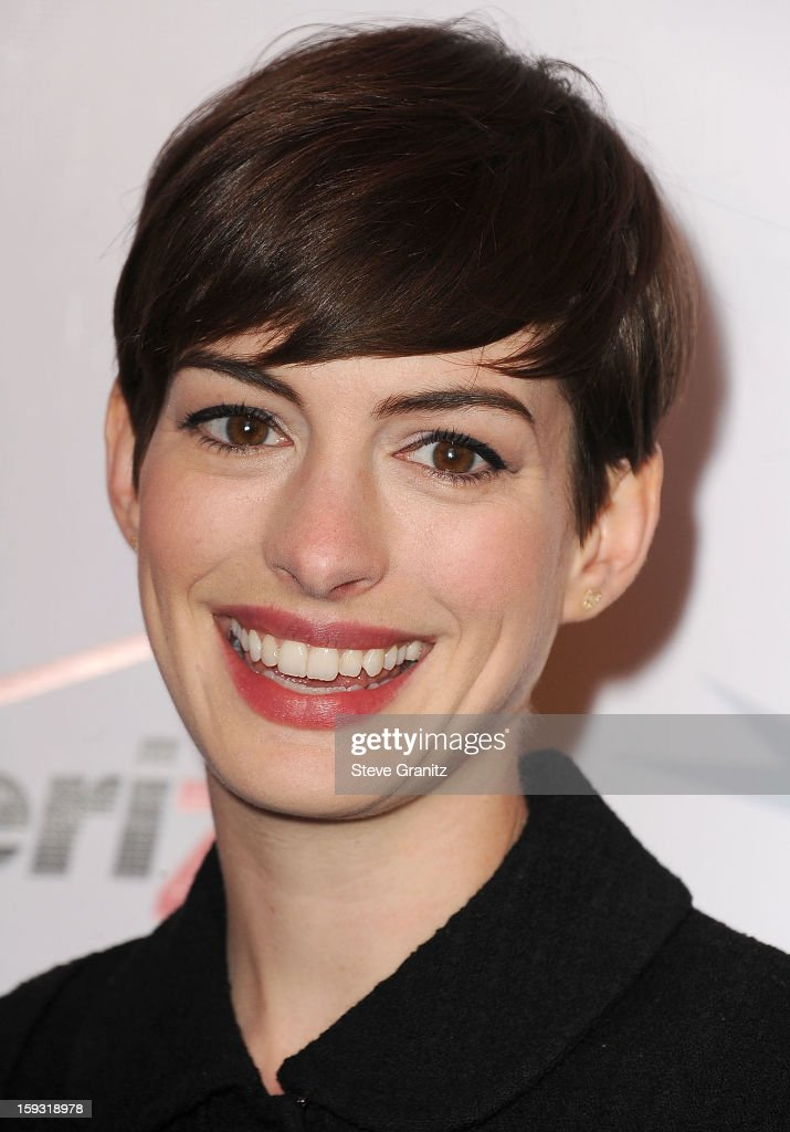 <a gi-track='captionPersonalityLinkClicked' href=/galleries/search?phrase=Anne+Hathaway+-+Actress&family=editorial&specificpeople=11647173 ng-click='$event.stopPropagation()'>Anne Hathaway</a> arrive at the 2012 AFI Awards Luncheon at Four Seasons Hotel Los Angeles at Beverly Hills on January 11, 2013 in Beverly Hills, California.