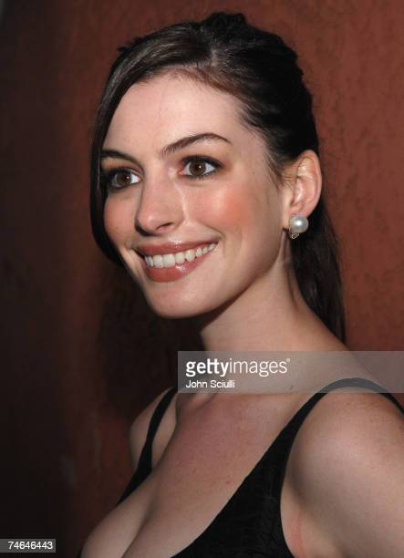 Anne Hathaway at the Music Box in Los Angeles California