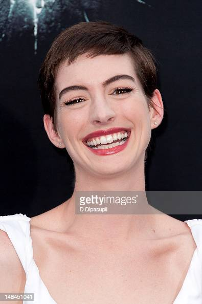 Anne Hathaway attends 'The Dark Knight Rises' world premiere at AMC Lincoln Square Theater on July 16 2012 in New York City