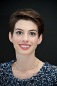 Anne Hathaway attends the 'Les Miserables' press conference at the Ritz Carlton Hotel on December 3 2012 in New York City